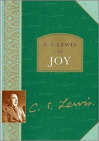 Amazoncom C S Lewis On Joy 9780785270973 C S Lewis Books