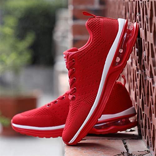 Rosso1 46eu Colori Sport Da Axcone Fitness Donna Sneakers Running Outdoor 36eu Sportive Uomo Basse Basket Scarpe Ginnastica Sneakers Molti TqUpqZ