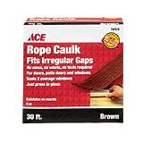 """CAULK ROPE 3/16""""X30' BRN"""