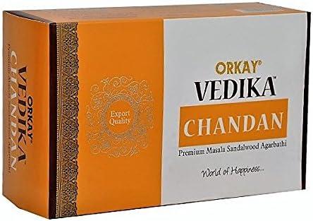 Incienso Orkay-Vedika Nag Chandan-12 cajas de 15 varillas: Amazon.es: Hogar