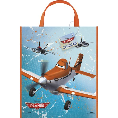 Large Plastic Disney Planes Goodie Bag, 13