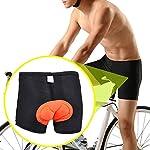 SWAMPLAND-Pantaloncini-da-Ciclismo-Uomo-3D-Gel-Pantaloni-Imbottiti-Bike-Pantaloni-Corti-Biancheria-Intimo-da-Ciclismo-BiciXS-XXXL