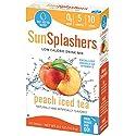 SUNSPLASHERS Peach Iced Tea, 120 Count