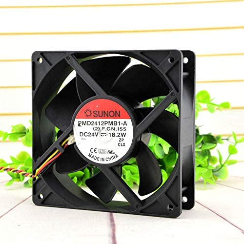 for SUNON PMD2412PMB1-A 12CM 24V 18.2W 12038 Inverter Cooling Fan