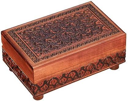Amazoncom Secret PUZZLE BOX Handmade Wood Keepsake Jewelry