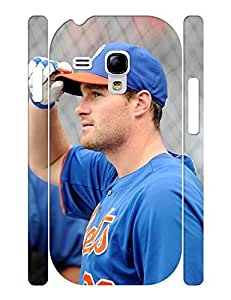 Beautiful Elegant Baseball Player Print Phone Shell Accessories Cover for Samsung Galaxy S3 Mini I8200 Case