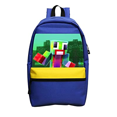 Cindysweet Unspeak-able Kids School Backpack Novelty Bookbag Lightweight Travel Backpacks School Bags for Boys Girls Blue: Clothing