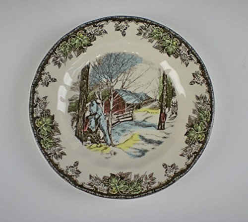 Johnson Brothers THE FRIENDLY VILLAGE(ENGLAND 1883) Bread&Butter Plate(s) EX! (England Bread Plate)