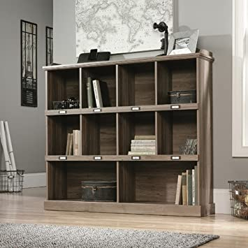 Sauder Barrister Lane 47.52 Bookcase Engineered Wood Salt Oak