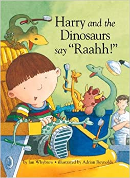 Image result for harry dinosaurs say