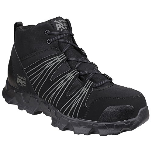 Timberland PRO Powertrain - Chaussures de Sécurité - Homme (44 EU) (Noir)