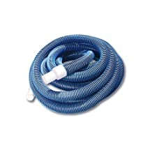 NorthLight Blue Extruded EVA In Ground Swimming Pool Vacuum Hose, 36 ft. x 1.25 in.