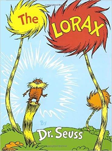 Image result for the lorax book cover