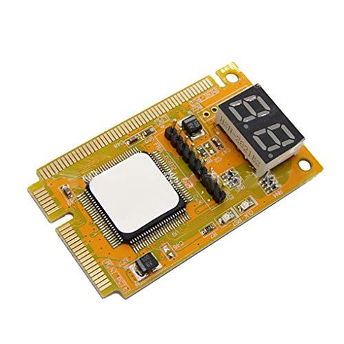 Wrea 3 in 1 2-Digit Mini PCI/PCI-E LPC Tester Diagnostics Debug Card Adapter Analyzer Notebook Laptop Computer