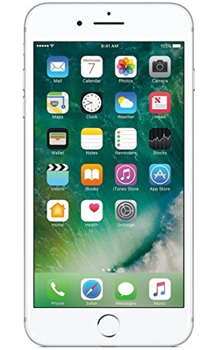 Apple iPhone 7 Plus, 128GB, Silver - For AT&T / T-Mobile (Renewed)