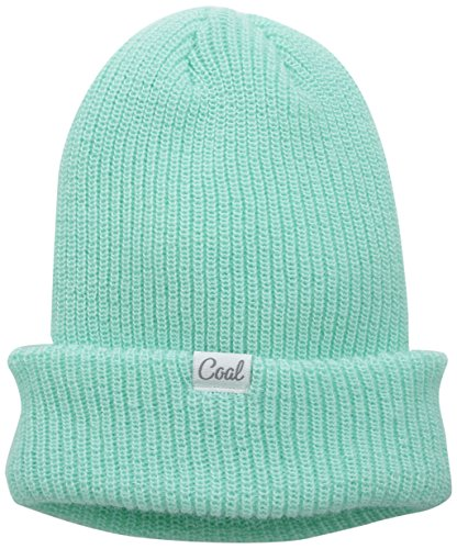 Coal Women's The Roberta Ribbed Watch Cap, Mint, One Size -