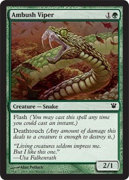 Magic: the Gathering - Ambush Viper - Innistrad - Foil