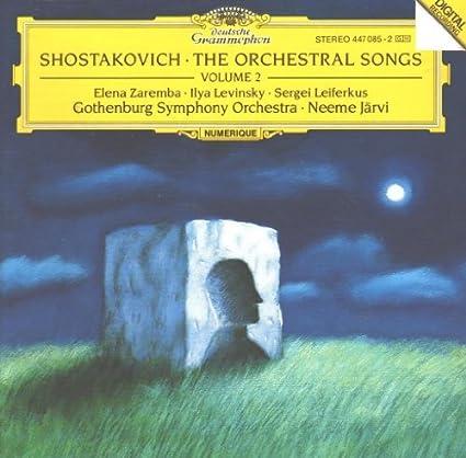 Chostakovitch: mélodies 51SM6upWCiL._SX425_