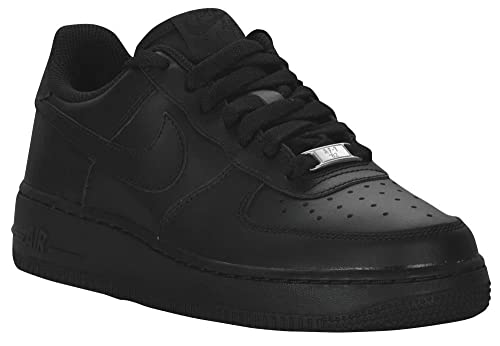 Nike Zapatillas Air Force 1 GS Negro/Negro Mujer 37 5 Negro KDtb5Zq7