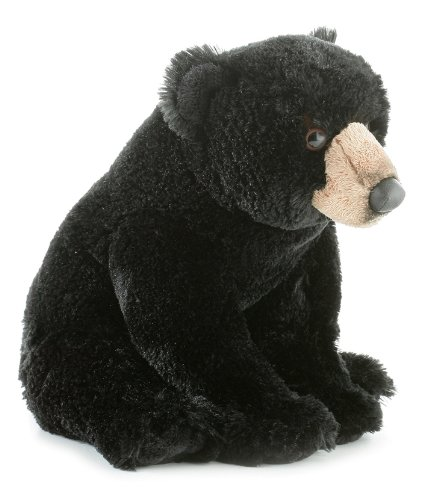 Aurora World Flopsie Plush Blackstone Bear, 12