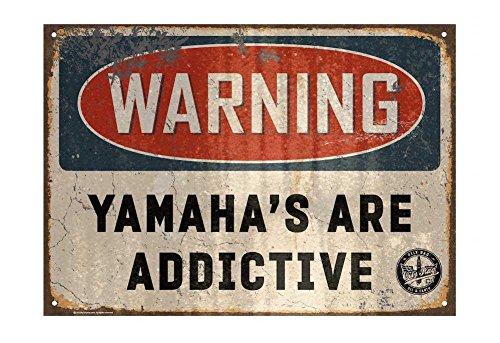 Oily Rag Kleidung Yamaha s sind S/üchtig machende Schild