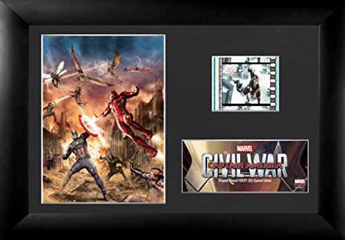 Trend Setters Captain America 3 (Civil War) Framed Mini Filmcells (Foiled Panther)