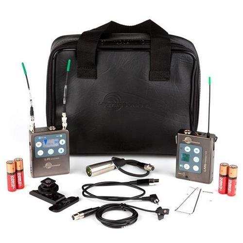 Adorama Lectrosonics ZS-LRLMb-A1 L Series Kit, Includes LR Receiver, LMb Beltpack Transmitter, M152 Mic, LRSHOE Camera Shoe Mount, CCMINI Case, A1: 470.100-537.575MHz