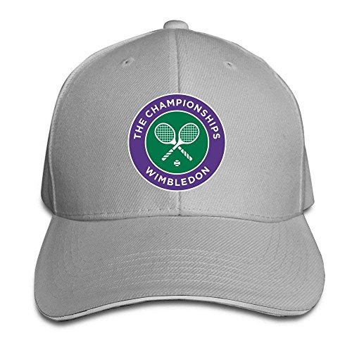 GlyndaHoa 2016 Wimbledon Tennis Championships Flex Baseball Cap Black Ash