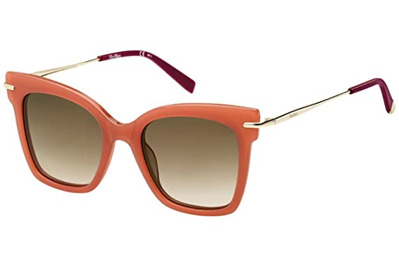 Max Mara Damen Sonnenbrille » MM NEEDLE IV«, orange, L7Q/HA - orange/braun