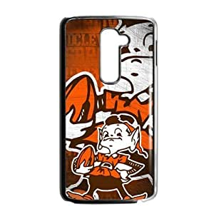 Hoomin Funny Cleveland Browns Design LG G2 Cell Phone Cases Cover Popular Gifts