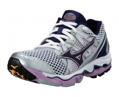 b2f9f0fc6517c Amazon.com | Mizuno Lady Wave Nirvana 9 Running Shoes - 11.5 - Pink ...