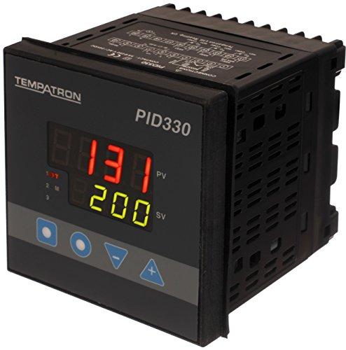 Tempatron PID330MH-1000 Digital PID Temperature Controller - Dark