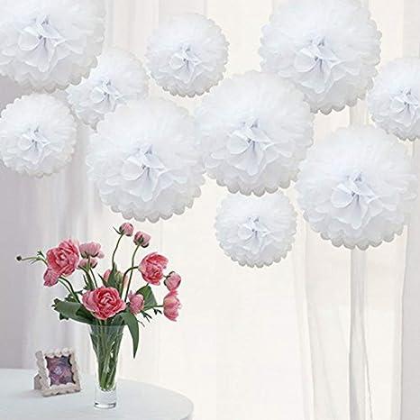 4 X Ombre Papel De Seda Pompones Colgantes Fiesta de Cumpleaños Bodas Decoraciones Decoración para fiestas