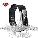 Ulvench Fitness Tracker, Heart Rate Monitor Smart Watch With Calorie Counter Watch Pedometer Sleep Monitor, Step Counter, GPS, IP67 Waterproof Activity Tracker for Android&iOS SmartPhone