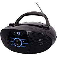 JENSEN CD-560 Portable Stereo CD Player with AM/FM Stereo Radio & Bluetooth(R) electronic consumer