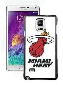 New Custom Design Cover Case For Samsung Galaxy Note 4 N910A N910T N910P N910V N910R4 Miami Heat 5 Black Phone Case