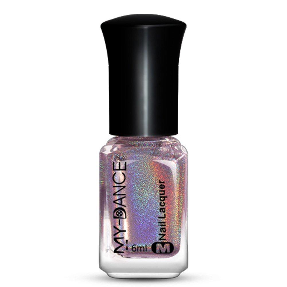 weisy 15 Farben Diamant Glänzend Nagellack bunt glitter gel ...