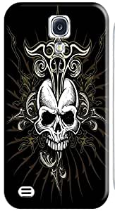 Fantastic Faye Cell Phone Cases For Samsung Galaxy S4 i9500 No.1 The Special Design With Skull Heads