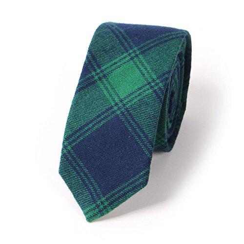 Mantieqingway Jacquard Skinny Necktie Cotton product image