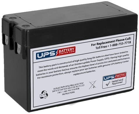 12V 2.5Ah Battery Optronics A5512 Replacement Battery