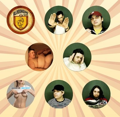 Bloodhound Gang Set of 8 - 1 Inch Pinback Buttons ()