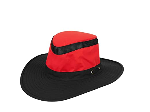 4685aa652f984 Image Unavailable. Image not available for. Color  Tilley Ltm6 Airflo Hat -  Red Black - 77 8