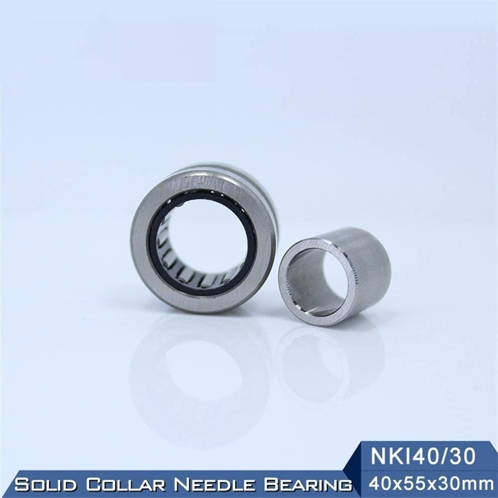 1 PC Solid Collar Needle Roller Bearings with Inner Ring NKI 40//30 Bearing WUXUN-ZHOU NKI40//30 Needle Roller Bearing 405530 mm