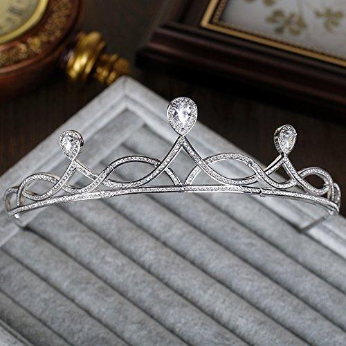 Tutu Series (Generic Tutu trend zircon series of high-end bridal jewelry headdress married crown tiara tiara wedding dress accessories)