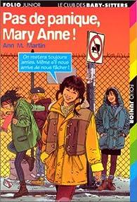 Pas de panique, Mary-Anne ! par Ann M. Martin
