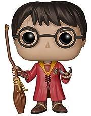 Pop! Movies - Muñeco cabezón Harry Potter Quidditch (Funko 5902)