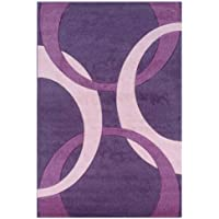 Kids Rug in Purple and Baby Pink (7 ft. 7 in. L x 5 ft. W (19 lbs.))