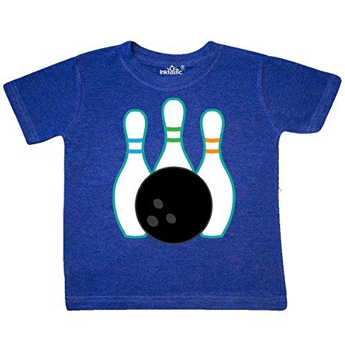 inktastic - Bowling Team Bowler Toddler T-Shirt 4T Retro Heather Royal 22352