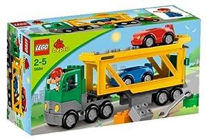 Amazon Com Lego Duplo Legoville Car Transporter 5684