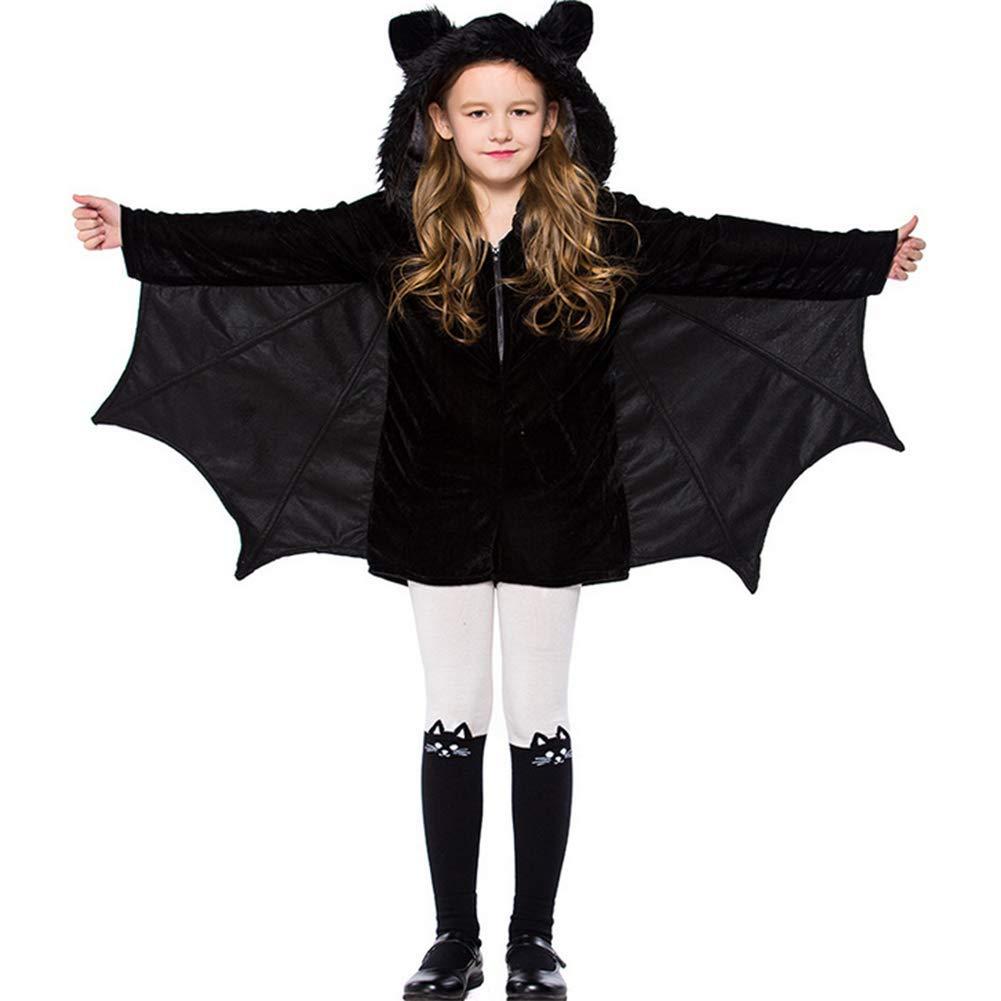 Ym Halloween Bat Kostüm Party Cosplay Reißverschluss Bat Cape Für Kinder Jugendliche Erwachsene,XL B07H3TM27P Kostüme für Kinder Lebendige Form | Förderung